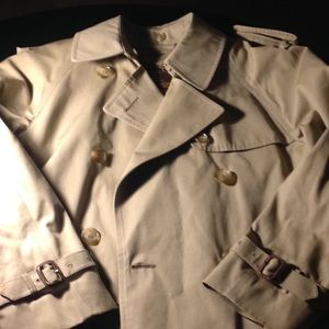 Vintage Brooks Brothers Trench Coat Tan Size 36-38